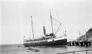 1920's Catalina Island Steam transport - BS01