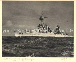 USS New York off Anacapa Island,   SantaBarbara CA, Coast - BS06