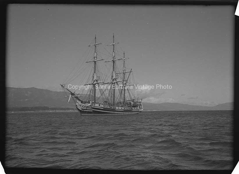 HMS BOUNTY Off The Santa Barbara Coast - BS10