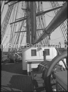 Top Deck, HMS Bounty, Santa Barbara, CA. - BS15