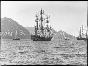 HMS Bounty Off Santa Cruz Island Santa Barbara, CA. - BS18
