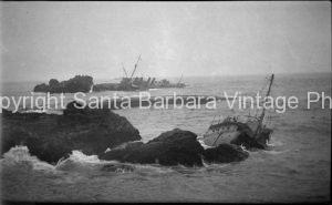 Honda Point Disaster, 1923 Santa Barbara, CA. - BS19