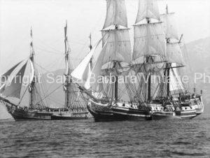 HMS  Bounty Alongside Tall Ship - BS22