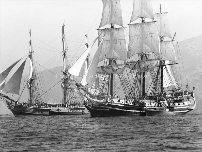 HMS  Bounty Alongside Tall Ship - BS22