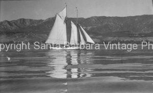 1920's Schooner of the Santa Barbar Coast, - BS31