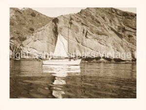 Sailing Anacapa Island, no wind! - CH09