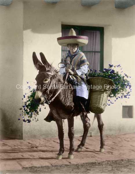 Guerro Campesino,1930's, Santa Barbara, CA. - FS05