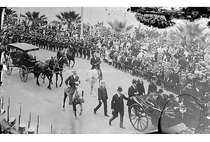 Theodore Roosevelt, Santa Barbara CA. - FS55
