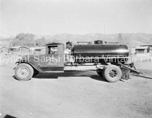 Vintage Truck, Santa Barbara, CA - GS59