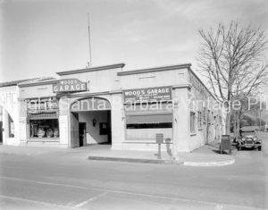 Woods Garage 400 State Street, Santa Barbara, CA Circa 1930 - GS65