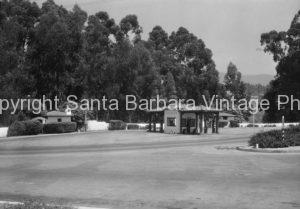 Gas Station, Montecito CA. - MT20