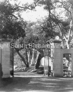Gated Entrance, Montecito, CA. - MT30