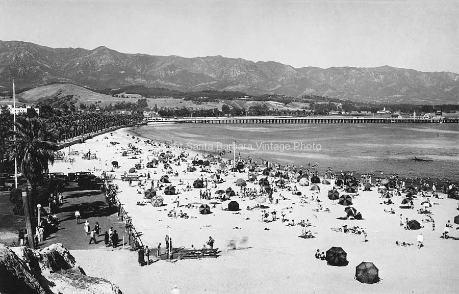 Leadbetter Beach 1930's - SB03