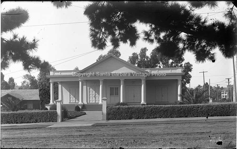 First Church Of Christ, Scientist c.1920 - Santa Barbara Ca. SB07
