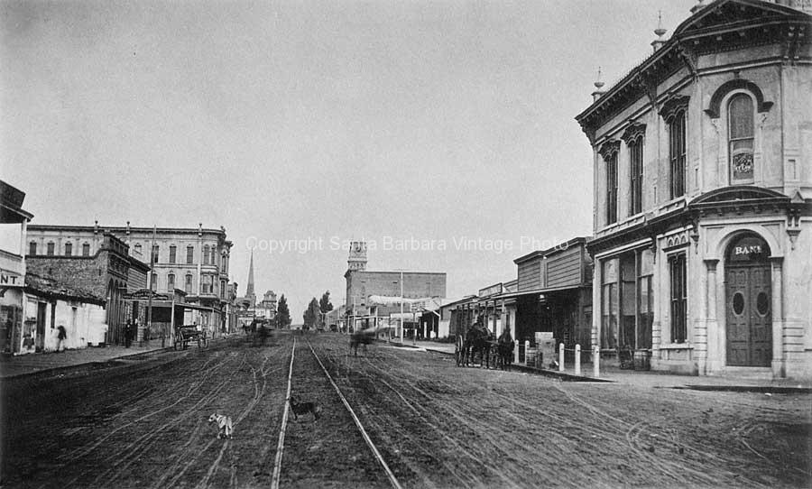 State Street & De La Guerra, Santa Barbara CA. - SB37