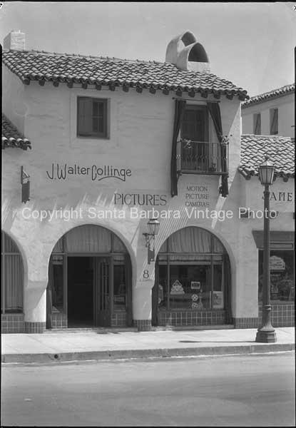 East De La Guerra St. Santa Barbara CA. - SB43