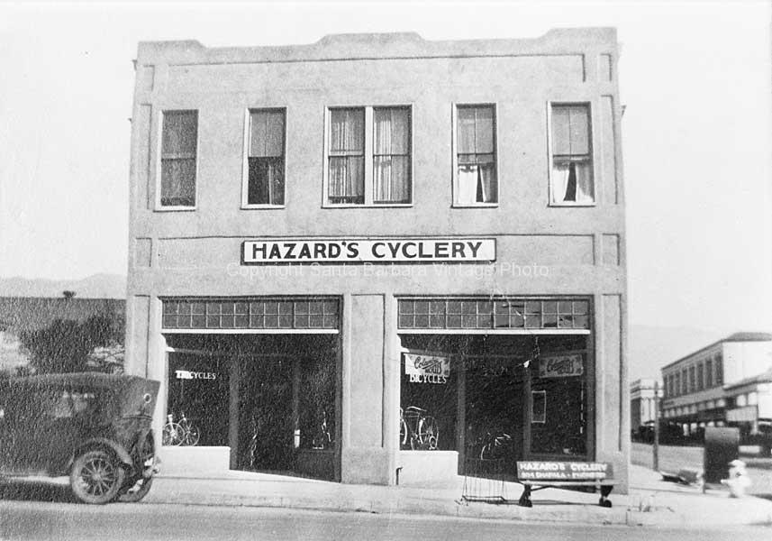 Hazards Cyclery 904 Chapala Santa Barbara, CA. - SB47