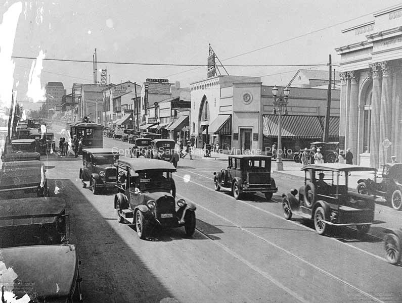 1st National Bank and Cannon Perdido,c 1930's - SB75