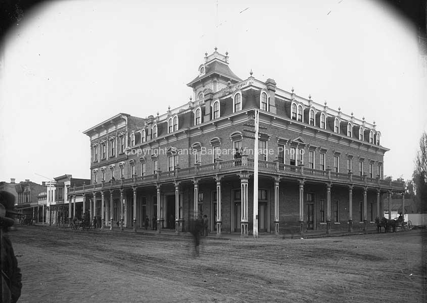 The Occidental Hotel 1880'sSanta Barbara - SB89