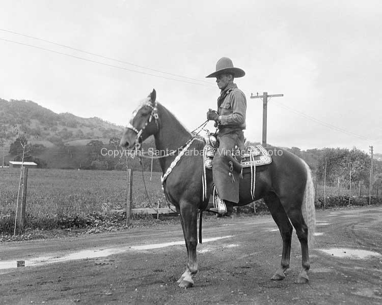 Cowboy, Santa Barbara, CA. - WE03