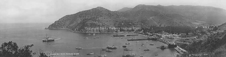 Santa Catalina CA. View of the Bay, CA-09