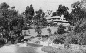 El Encanto Hotel, Vintage Photo, Santa Barbara, CA EE07