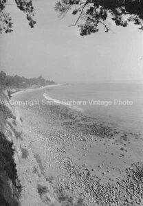 Butterfly Beach Santa Barbara, CA. - 1940's - MR55