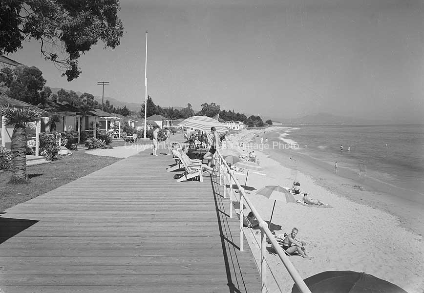 Miramar Hotel Strand Montecito Ca C 1930 Mr62