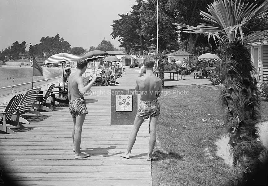Miramar Hotel Montecito Ca Sunbathers Circa 1930 Mr66