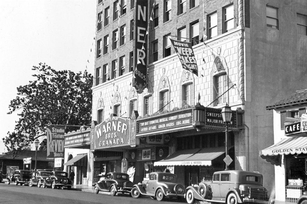 Granada Theater, Santa Barbara CA 1935 - #1