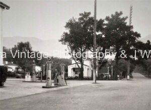 Olive Mill Rd at Coast Village , Montecito Ca.